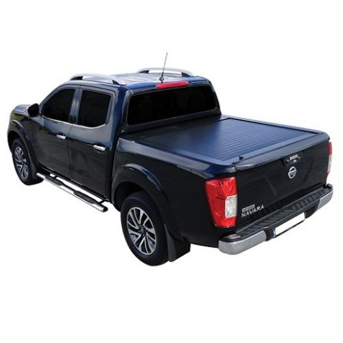 roll top cover nissan navara np300 2016 double cab. Black Bedroom Furniture Sets. Home Design Ideas