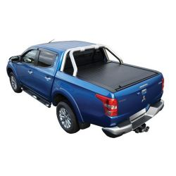 ROLL BAR INOX D.76 COMPATIBLE RTC FIAT FULLBACK 2016- DOUBLE CAB