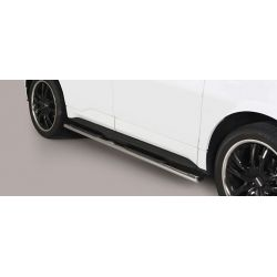 TUBES MARCHE PIEDS OVALE INOX FORD EDGE 2016- - accessoires 4x4 MISUTONIDA