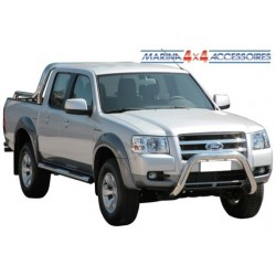 RAMM BIG BAR INOX Ø 76 MAZDA B2500 / FORD RANGER 1999- 2006