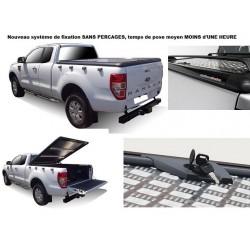 TONNEAU COVER ALU FORD RANGER 2012- DOUBLE CAB - UPSTONE EVOLVE accessoires 4x4 MISUTONIDA