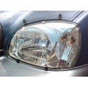 HEADLAMP GUARDS HYUNDAI TUCSON PROTECTION PHARES PLEXI 2004-