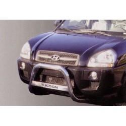 MEDIUM BAR INOX 63.5 HYUNDAI TUCSON 2004- - accessoires 4X4 MISUTONIDA
