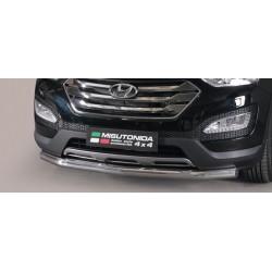 TUBE PROTECTION AVANT INOX 76 HYUNDAI SANTA 2012- accessoires 4x4