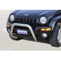 BIG BAR INOX Ø 76 JEEP CHEROKEE 2002-
