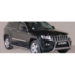 MEDIUM BAR INOX 63 JEEP GRAND CHEROKEE 2011- CE accessoires 4X4 MISUTONIDA
