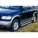 Marche pieds ALU S50 KIA SPORTAGE 1999- 2004 - accessoires 4X4 MISUTONIDA