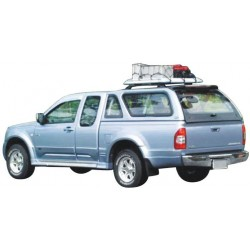 Hard top CARRYBOY MAZDA BT50 SIMPLE CAB 2007- SS VITRES LATERALES