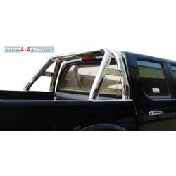 ROLL BAR INOX DOUBLE TUBE OVALE MAZDA B2500 1999- 2006 - accessoires 4X4 MISUTONIDA