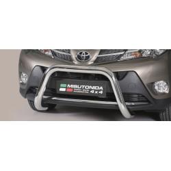 SUPER BAR INOX 76 TOYOTA RAV4 2013- CE accessoires 4x4 MISUTONIDA