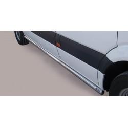TUBES BAS DE CAISSE INOX 63 MERCEDES SPRINTER 2007- 2012 - accessoires 4x4 MISUTONIDA