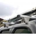 BARRE TOIT ALUMINIUM CARRYBOY NISSAN NAVARA 2002- 2005 - accessoires 4X4 MISUTONIDA