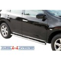 TUBES MARCHE PIEDS OVALE INOX Ø 76 NISSAN MURANO 2008- - accessoires 4X4 MISUTONIDA