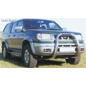 BIG BAR INOX Ø 76 NISSAN NAVARA 1998- 2002
