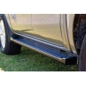 MARCHE PIED ALU NOIR NISSAN NAVARA D40 DOUBLE CAB 2012- - accessoires 4X4 MISUTONIDA
