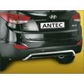 Tube arriere INOX 38 HYUNDAI IX35 2010-2014 - CE accessoires 4x4 ANTEC
