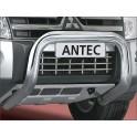 Protection avant INOX 76 MITSUBISHI PAJERO V80 2012- - CE accessoires 4X4 ANTEC
