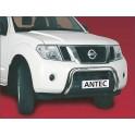 Protection avant INOX 60 NISSAN NAVARA D40 2010- - CE accessoires 4X4 ANTEC