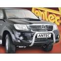 Protection avant INOX 70 TOYOTA HILUX 2012- - CE accessoires 4x4 ANTEC