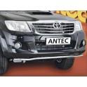 Tube de protection avant INOX 51 TOYOTA HILUX 2012- - CE accessoires 4x4 ANTEC