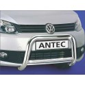 Protection avant INOX 60 VW CADDY 2010- -CE accessoires 4X4 ANTEC
