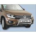 Protection avant INOX 70 VOLKSWAGEN TIGUAN 2011- - CE accessoires 4X4 ANTEC