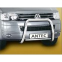 Barre de protection des pietons INOX 60 VOLKSWAGEN MULTIVAN 2009-2013 - CE accessoires 4X4 ANTEC